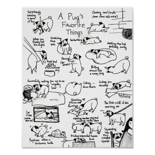 A Pug's Favourite Things, Part II Poster