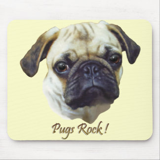 A  Pugs-Rock Mouse Pad