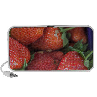 a punnet of ripe fresh strawberries for sale in mp3 speakers