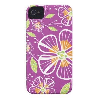 A Purple Bouquet iPhone 4 Cases