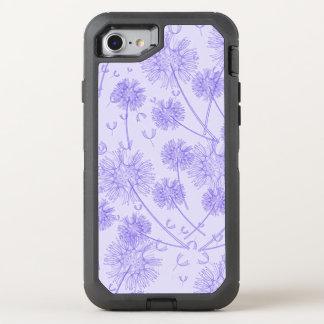 A Purple Dandelion OtterBox Defender iPhone 8/7 Case