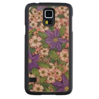 A Purple Patch 2011 Maple Galaxy S5 Slim Case