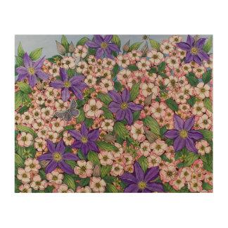 A Purple Patch 2011 Wood Canvas