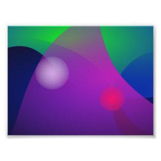 A Purple Wave Photo Art