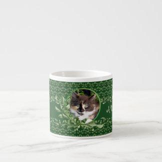 A Purrrfect Day Calico Kitten Espresso Mug