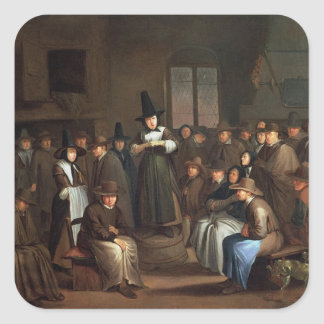 A Quakers Meeting Sticker