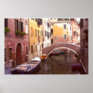 A Quiet Corner of Venice Poster