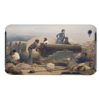 A Quiet Day in the Diamond Battery, plate from 'Th Barely There iPod Cases
