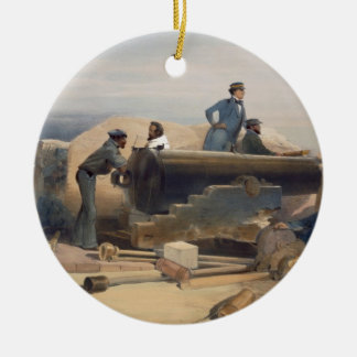 A Quiet Day in the Diamond Battery, plate from 'Th Round Ceramic Decoration