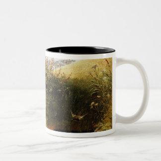 A Quiet Dell Two-Tone Coffee Mug