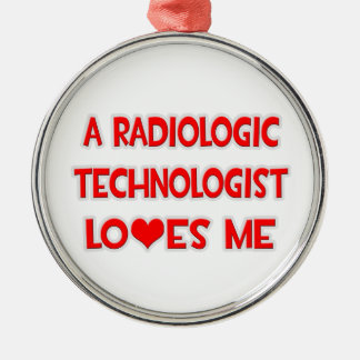 A Radiologic Technologist Loves Me Ornaments