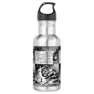 A Railroad Play -The Limited Mail 1899 532 Ml Water Bottle