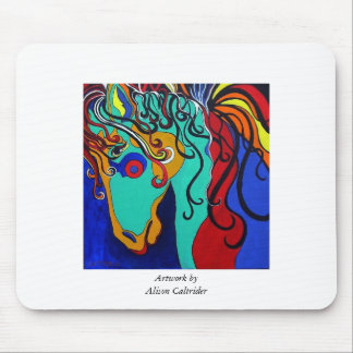 A Rainbow Called Romeo Mouse Pad