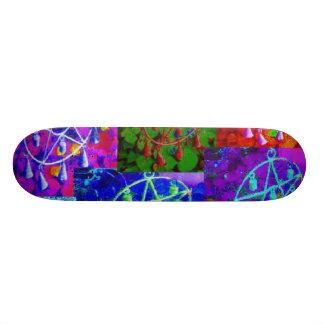 A Rainbow of My Abundance by JudyMarisa 21.6 Cm Skateboard Deck