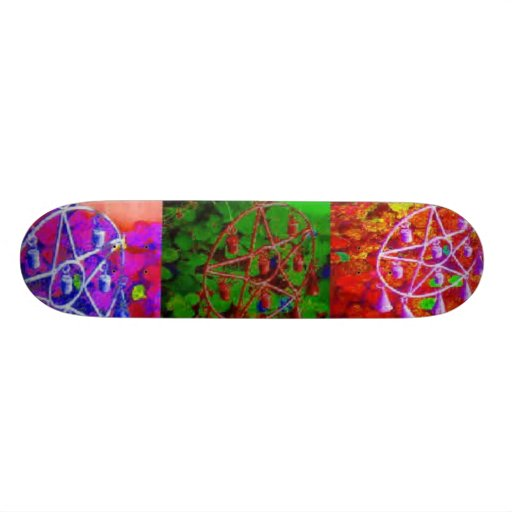 A Rainbow of My Abundance by JudyMarisa Skateboard Decks
