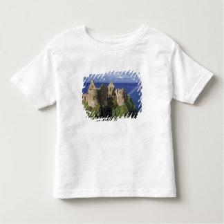A rainbow strikes medieval Dunluce Castle on Tee Shirt