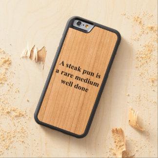 A Rare Medium Well Done Pun Cherry iPhone 6 Bumper Case