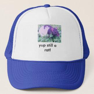 a rat trucker hat