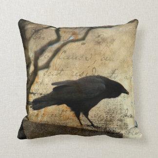 A Raven Cushion