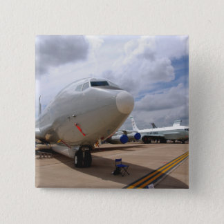 A RC-135V/W Rivet Joint aircraft 15 Cm Square Badge