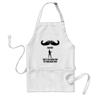 A Real Overly Manly Man - Coaster? Standard Apron