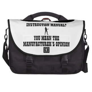 A Real Overly Manly Man - Instruction Manual Laptop Bags