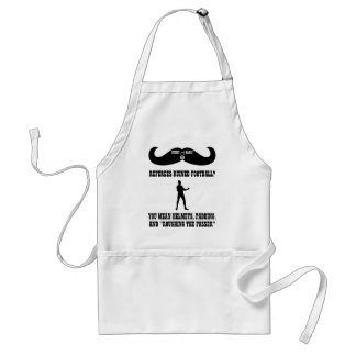 A Real Overly Manly Man - Refs Ruined Football Standard Apron