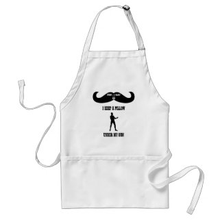 A Real Overly Manly Man - Under My Gun Standard Apron