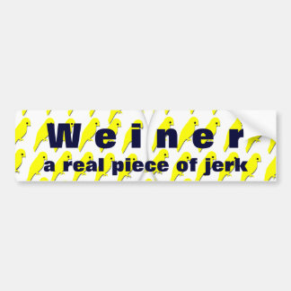 A Real Piece of Jerk Bumper Stickers