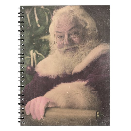 A Real Vintage Santa Claus checking out his