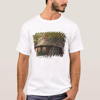 A Red Log Home T-Shirt