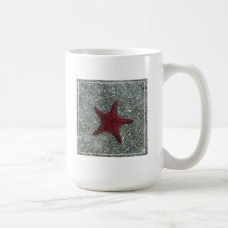 A Red Starfish | Galapagos, Equador Coffee Mug