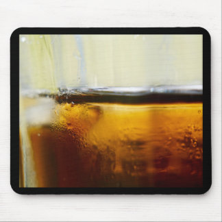 A Refreshing Iced Drink Mouse Pad