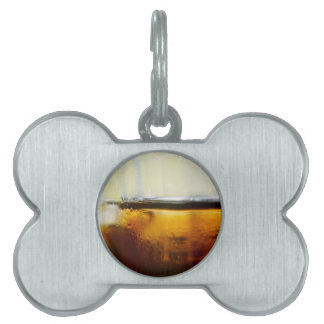 A Refreshing Iced Drink Pet ID Tag