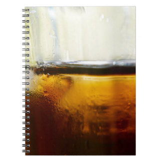 A Refreshing Iced Drink Spiral Notebook