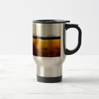 A Refreshing Iced Drink Stainless Steel Travel Mug