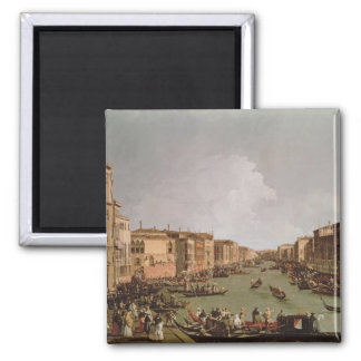 A Regatta on the Grand Canal, c.1735 Magnet