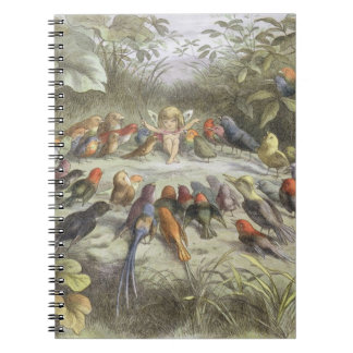 A Rehearsal in Fairy Land, illustration from 'In F Notebook