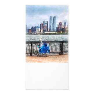 A Relaxing Day For Fishing Photo Card