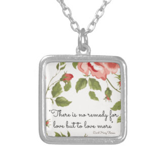 A Remedy For Love Sterling Silver Necklace