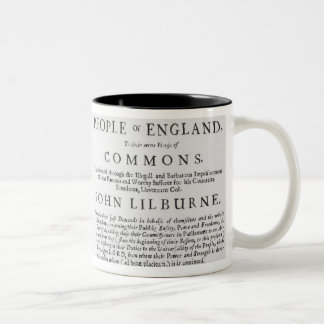 A remonstrance by the Levellers Mugs