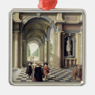A Renaissance Hall Christmas Ornament