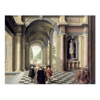 A Renaissance Hall Postcard