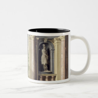 A Renaissance Hall Two-Tone Coffee Mug