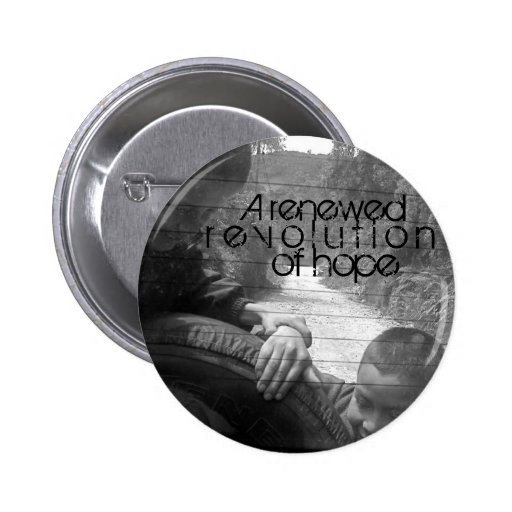 A renewed revolution of hope button