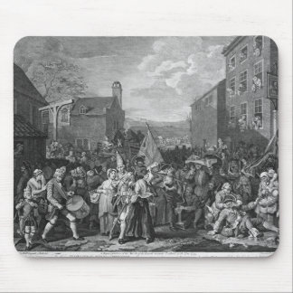 A Representation of the March of the Guards Mouse Mat