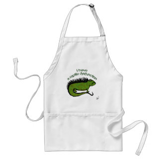 A Reptile Dysfunction Standard Apron