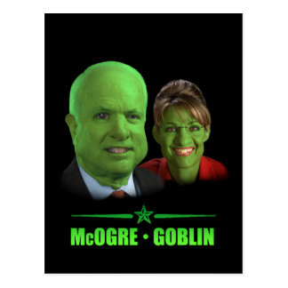 A Republican Halloween! Postcard