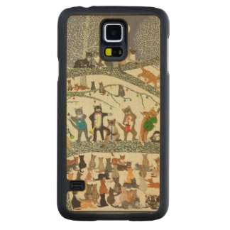 A Resounding Success 2012 Carved Maple Galaxy S5 Case