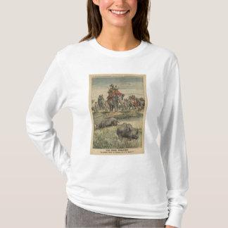 A rhinoceros hunt in honour of King George V T-Shirt